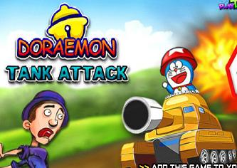 Play Doraemon Tank Attack Game