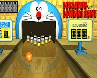 Play Doraemon Bowling Game
