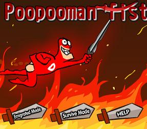 Play Poopooman Fistfight Game