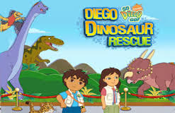 Play Diego Dinosaur Rescue Game