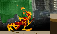Play Ben10 Alien Force The City Fall Down Game