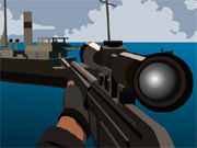 Play Foxy Sniper Pirate Shootout Game