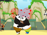 Play Kung Fu Panda Kiss Game