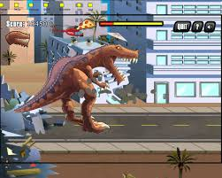 Play T Rex Rampage Prehistoric Pizza Game