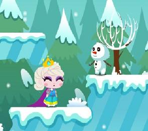Play Snow Queen Save Princess Game