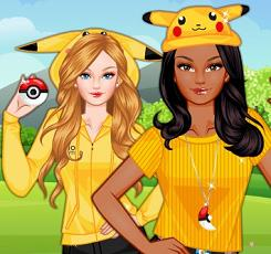 Play Barbie Pokemon Game