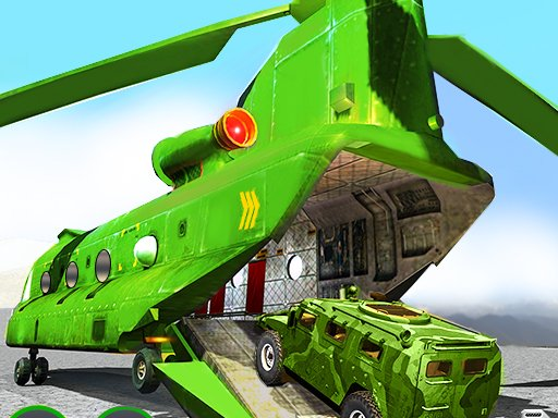 Play US Army Cargo Helicopter : Flying Simulator Game