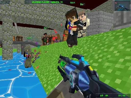 Play GunGame Paintball Wars Game