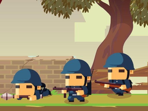 Play Army Block Squad Game