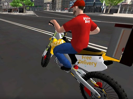 Play Motor Bike Pizza Delivery Game