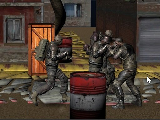 Play Realistic Street Fight Apocalypse Game