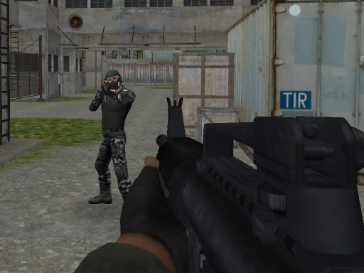 Play Army Frontline Mission Game