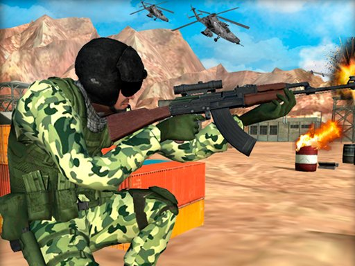 Play Frontline Army Commando War Game