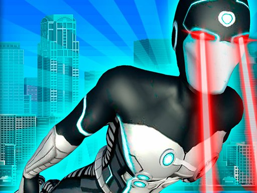 Play Flying Superhero Revenge Grand City Captain Game