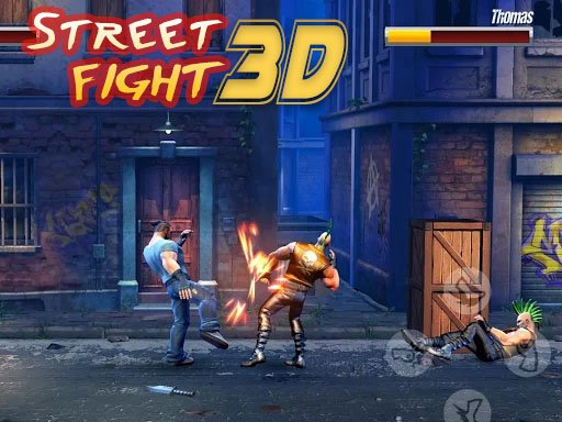 Play Street Fight 3D Game