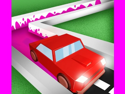 Play Car Driving Paint 3D Game