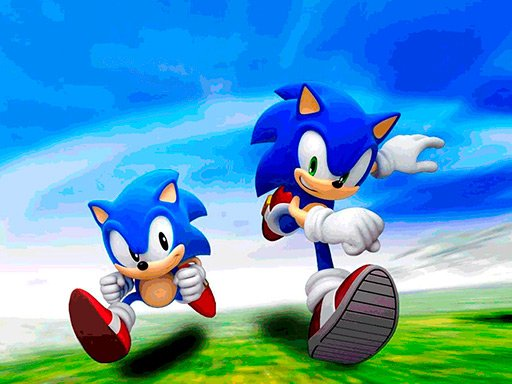 Play Sonic Jigsaw Puzzle Collection Game