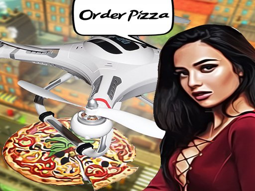 Play Pizza Drone Delivery Game