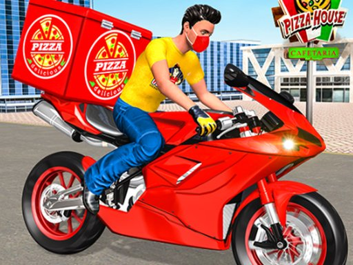 Play Moto Pizza Delivery Game