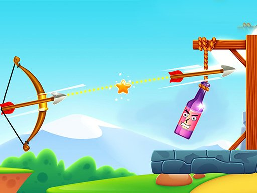 Play Archery Bottle Shoot Game