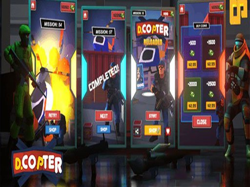 Play New Death Copter Game