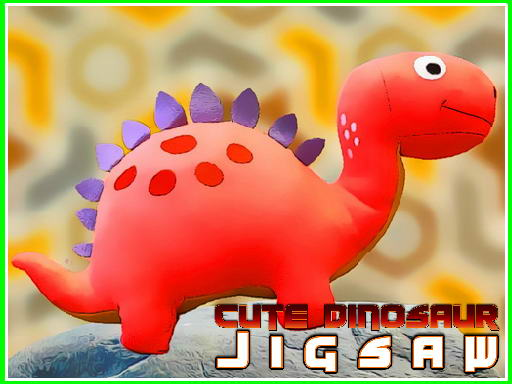 Play Cute Dinosaur Jigsaw Game