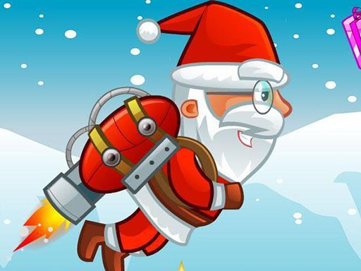 Play Flying Santa Gifts Game