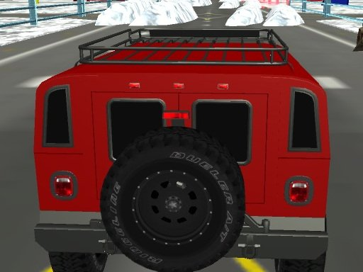 Play Snow Plow Jeep Driving Game