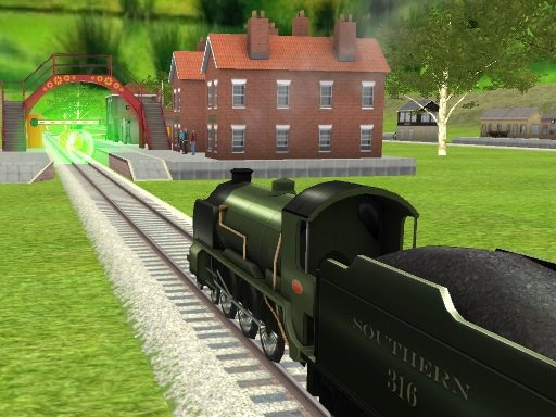 Play Train Driver Game