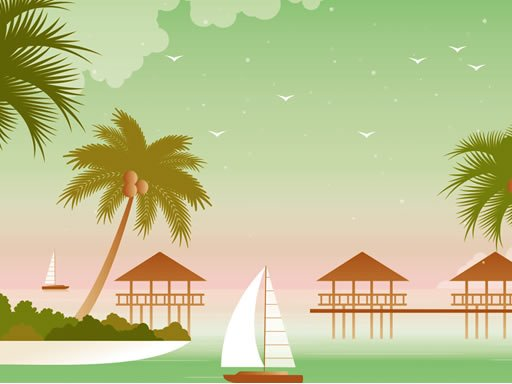 Play Tropical Paradise Difference Game
