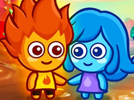 Play Lava Boy And Blue Girl Game