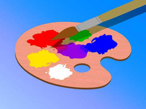 Play Color The Objects Game