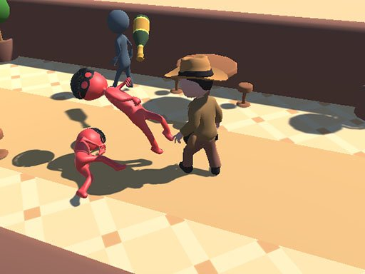 Play Catsh the robber Game