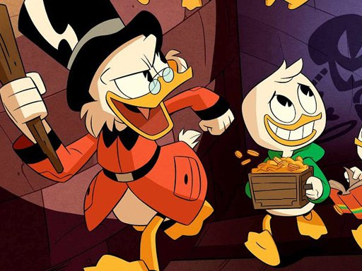 Play Duck Tales Jigsaw Puzzle Collection Game