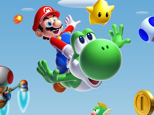 Play Mario Jigsaw Puzzle Collection Game