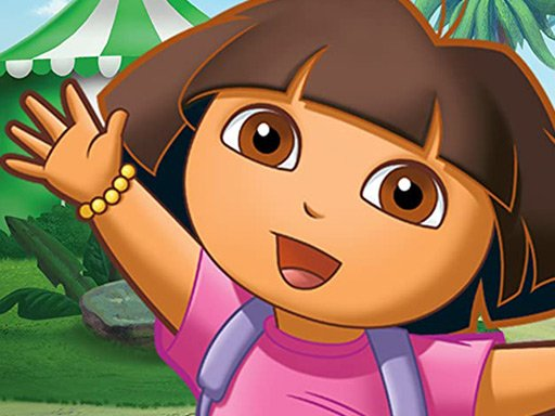 Play Dora the Explorer Jigsaw Puzzle Collection Game