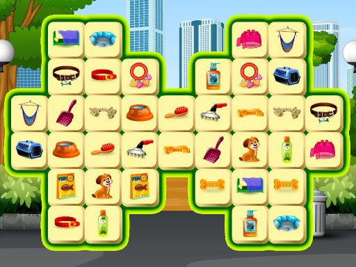 Play Pet Care Mahjong Game
