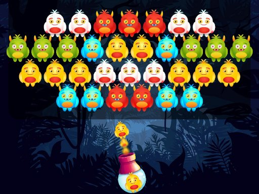 Play Monster Bubble Shooter Game