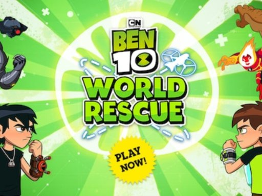 Play Ben 10 World Rescue Game