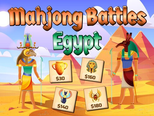 Play Mahjong Battles Egypt Game
