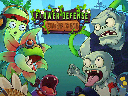 Play Flower Defense – Zombie Siege Game