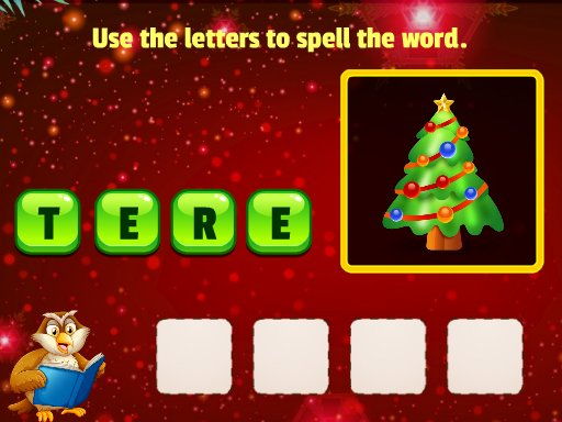 Play Xmas Word Puzzles Game