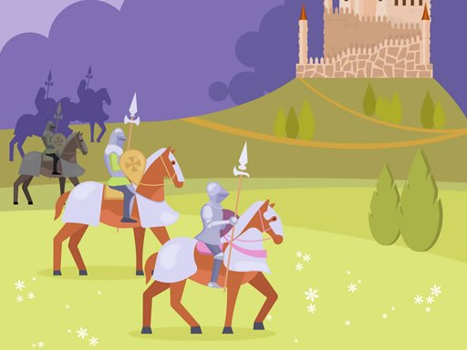 Play Medieval Knights Match 3 Game