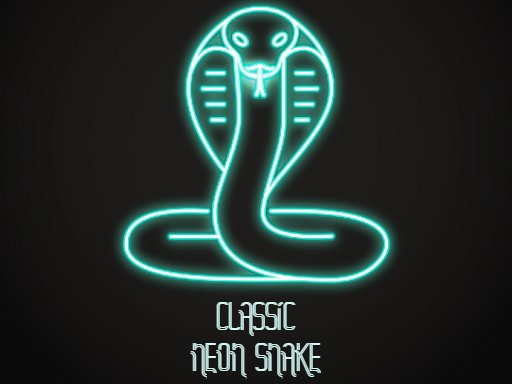Play Classic Neon Snake Game