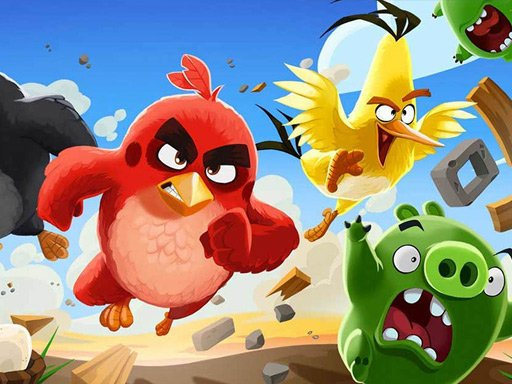 Play Angry Birds Jigsaw Puzzle Collection Game