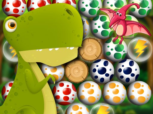 Play Egg Shooter Bubble Dinosaur Game