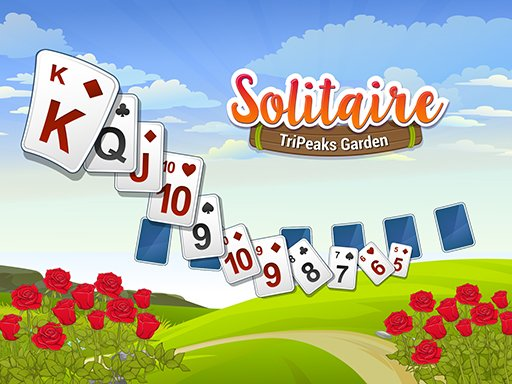 Play Solitaire TriPeaks Garden Game