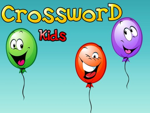 Play Crossword For Kids Game