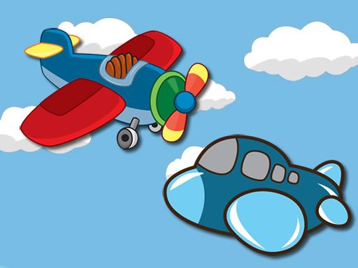 Play Airplanes Coloring Pages Game