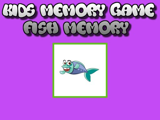 Play Fish Memory – Kids Learning Game